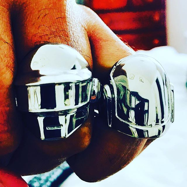 PUT A RING ON IT @hancholodesigns @daft punk store @daftpunk_officialpage @daftpunk @_daft_punk @sandbagltd