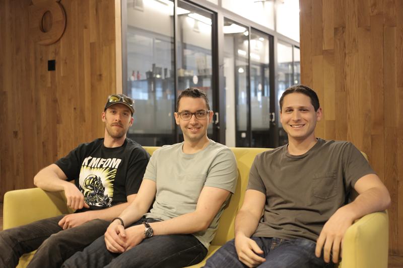 Garrett Peek (left), Philip Golbraikh (center), David Alson (right)