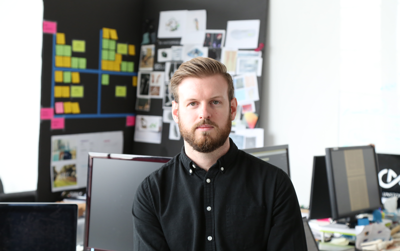James Kennedy, Lead Product Designer.
