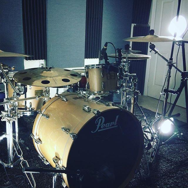 Recording new Sungazer with @its_adamneely