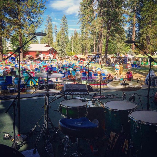 Good times playing at California WorldFest in Grass Valley yesterday with @emelmathlouthi !