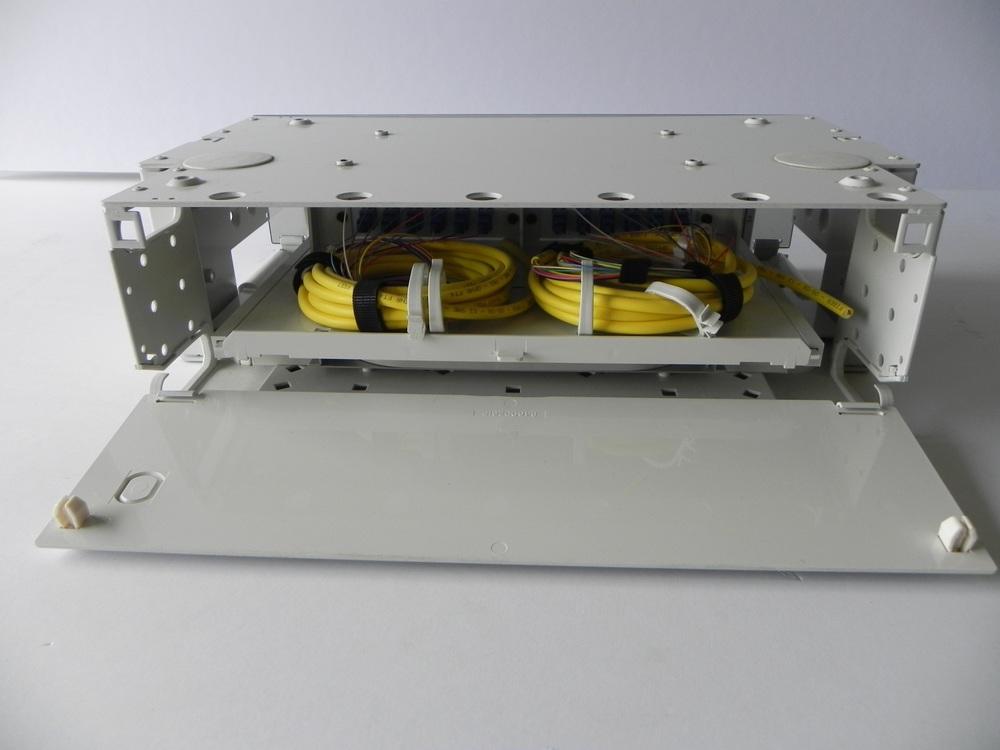 Back Picture OFS 3RU Patch/Splice Shelf - 24 SC