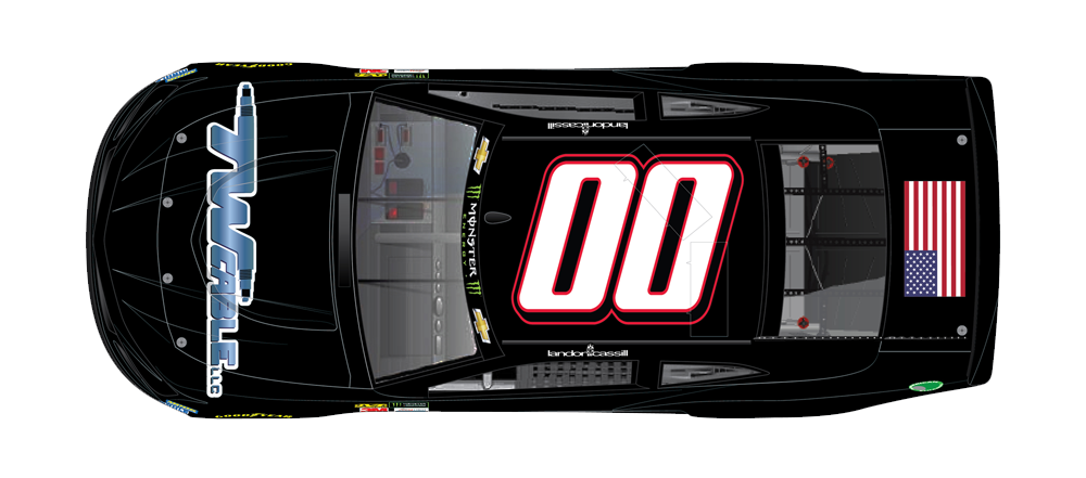 TW Cable LLC, Sponsors 00 car for StarCom Racing.