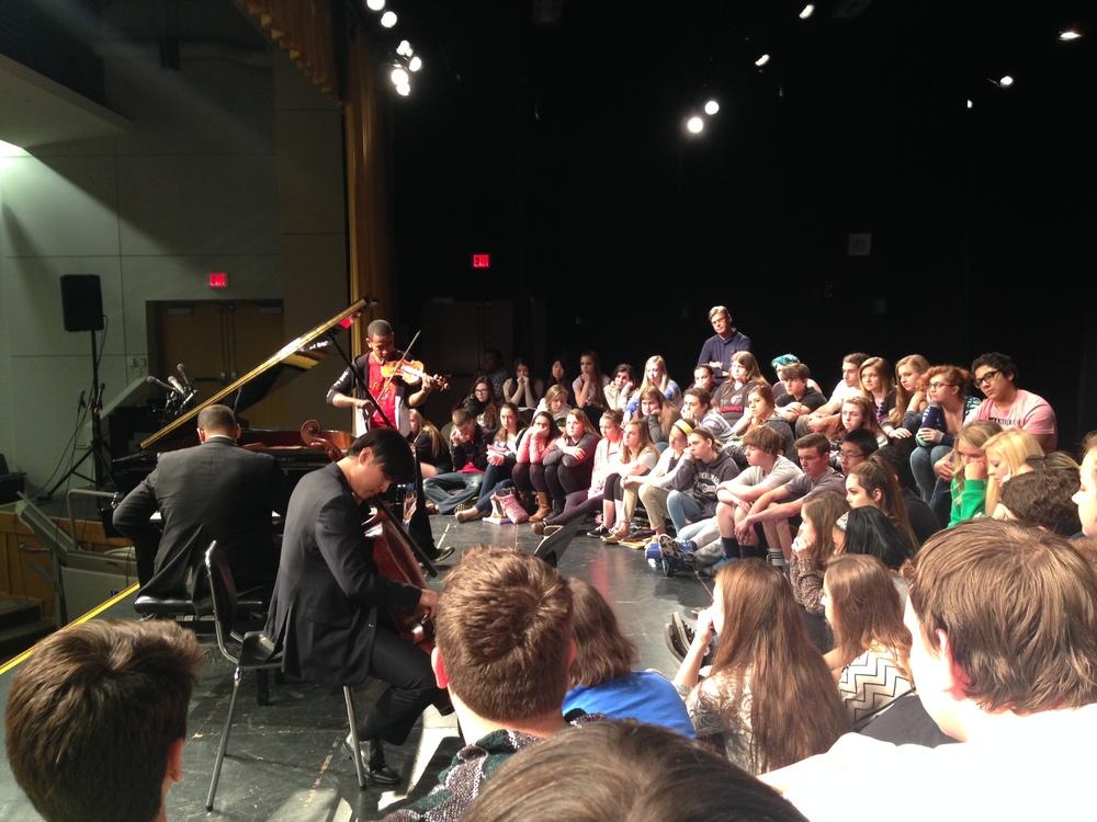 Performing in Toledo
