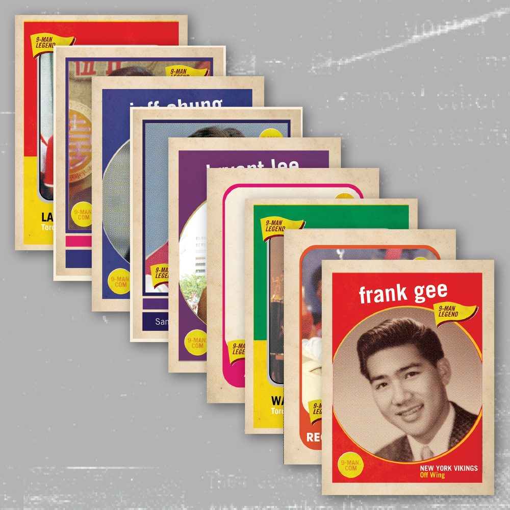BUY A 9-MAN TRADING CARD SET