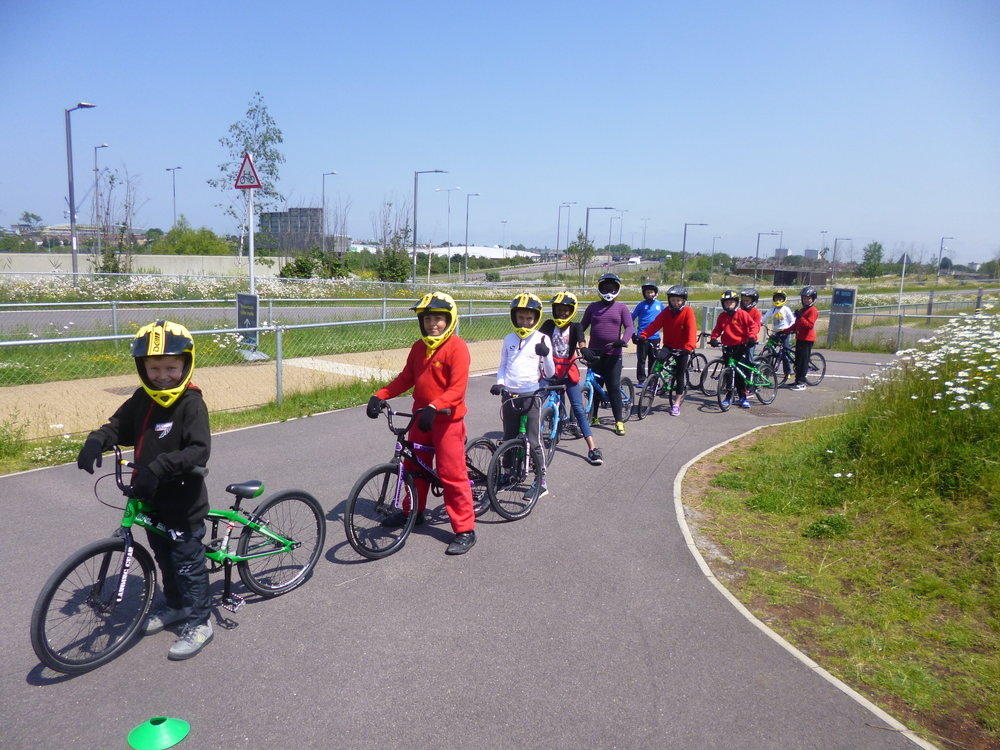 Biking School trips to reward children & families that cycle regularly