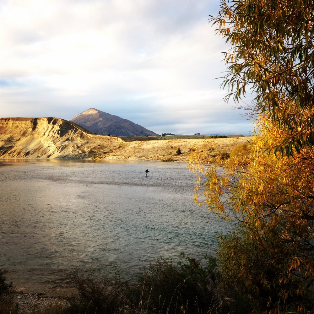 New Zealand autumn fly fishing