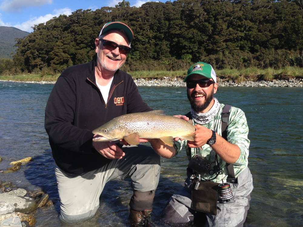 Back country fly fishing New Zealand