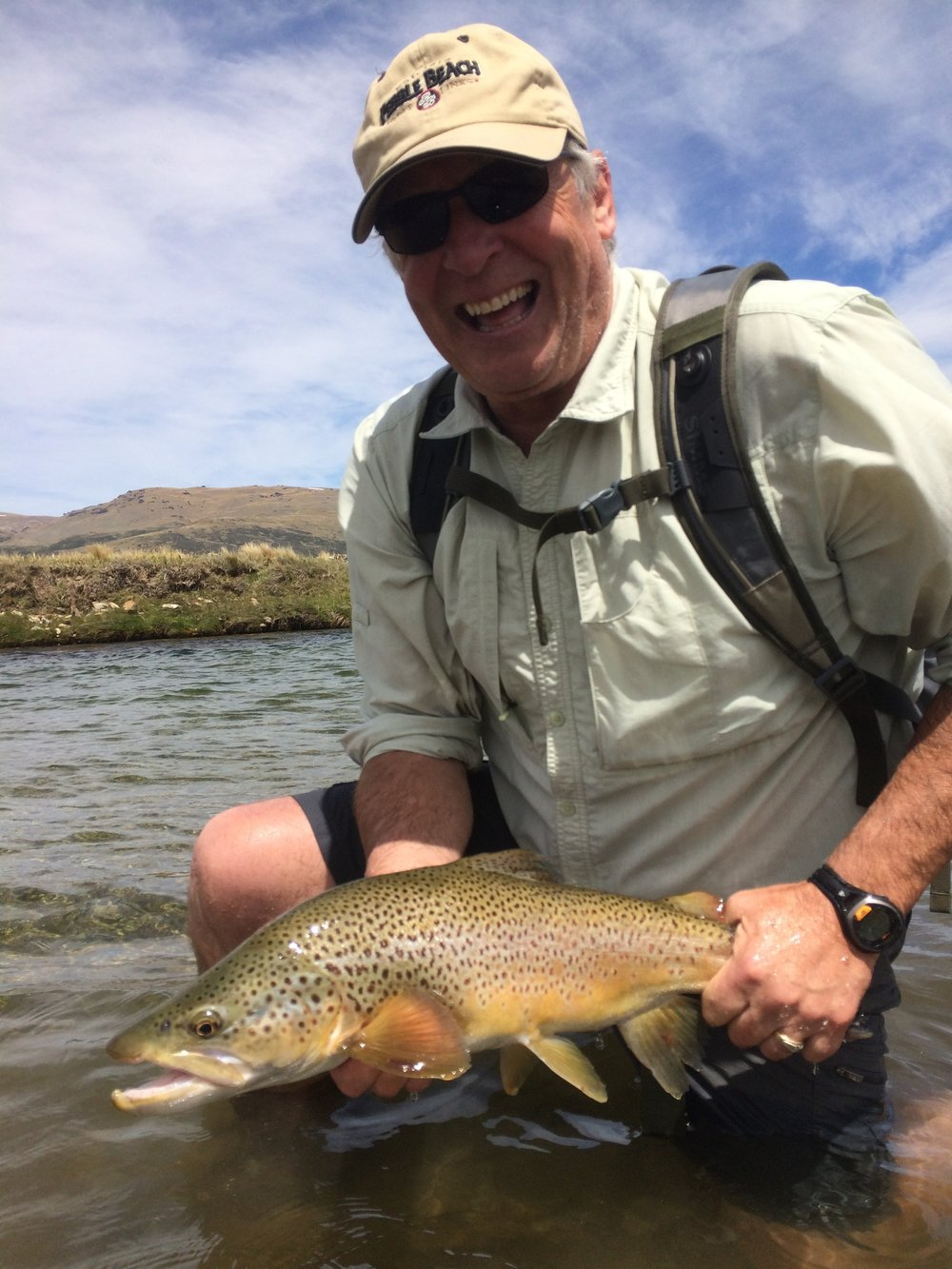 New Zealand brown trout guided fly fishing