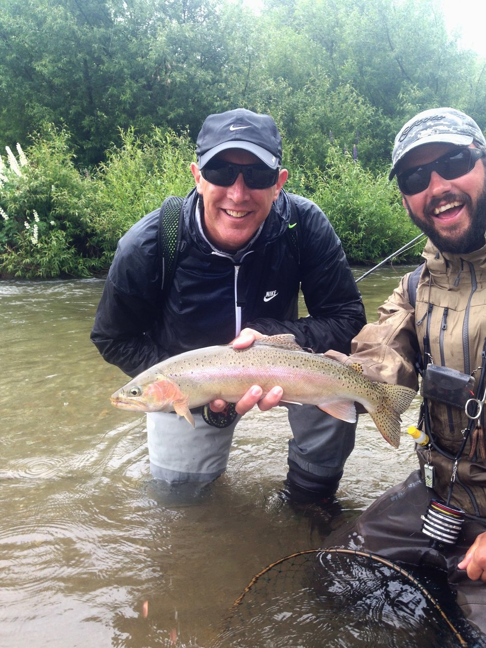 Wanaka fly fishing guide Jeff Forsee