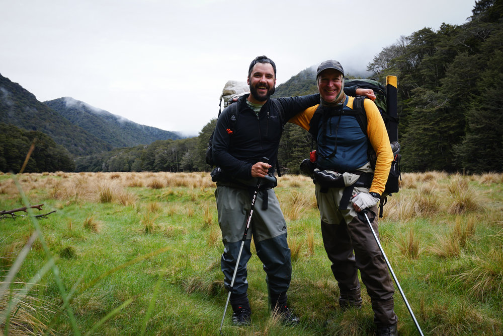 Guided backcountry fly fishing New Zealand