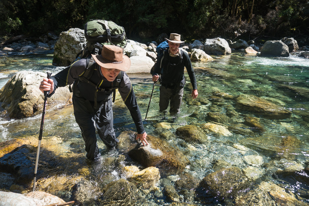 Fishing adventure with Jeff Forsee. Fiordland New Zealand