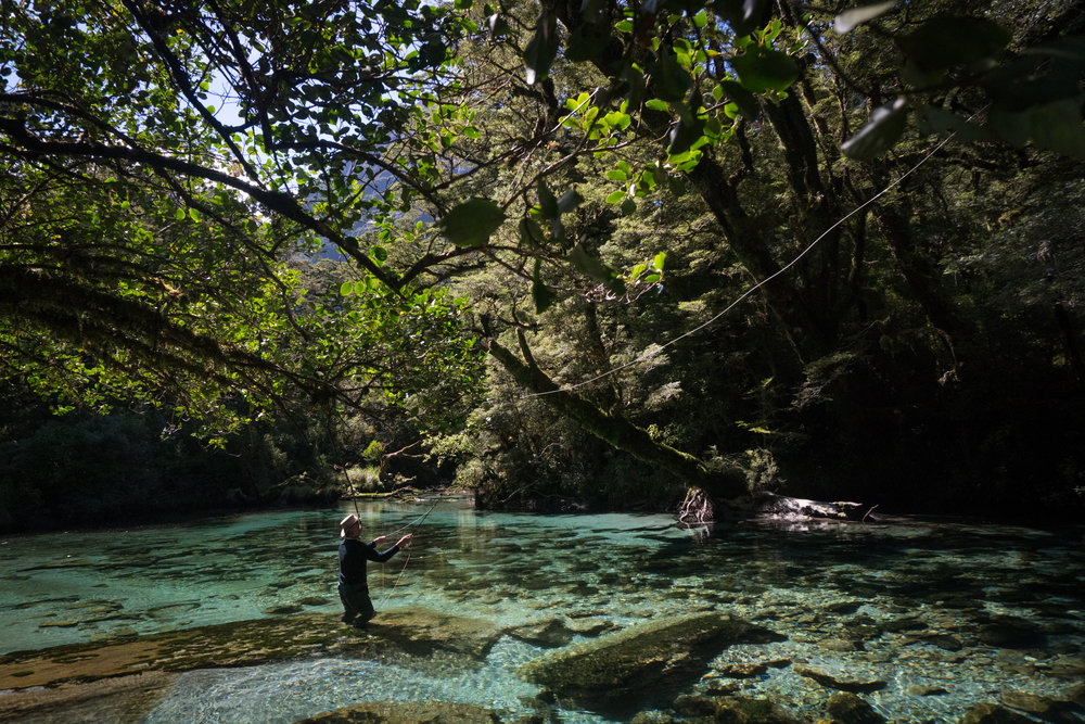New Zealand backcountry fly fishing