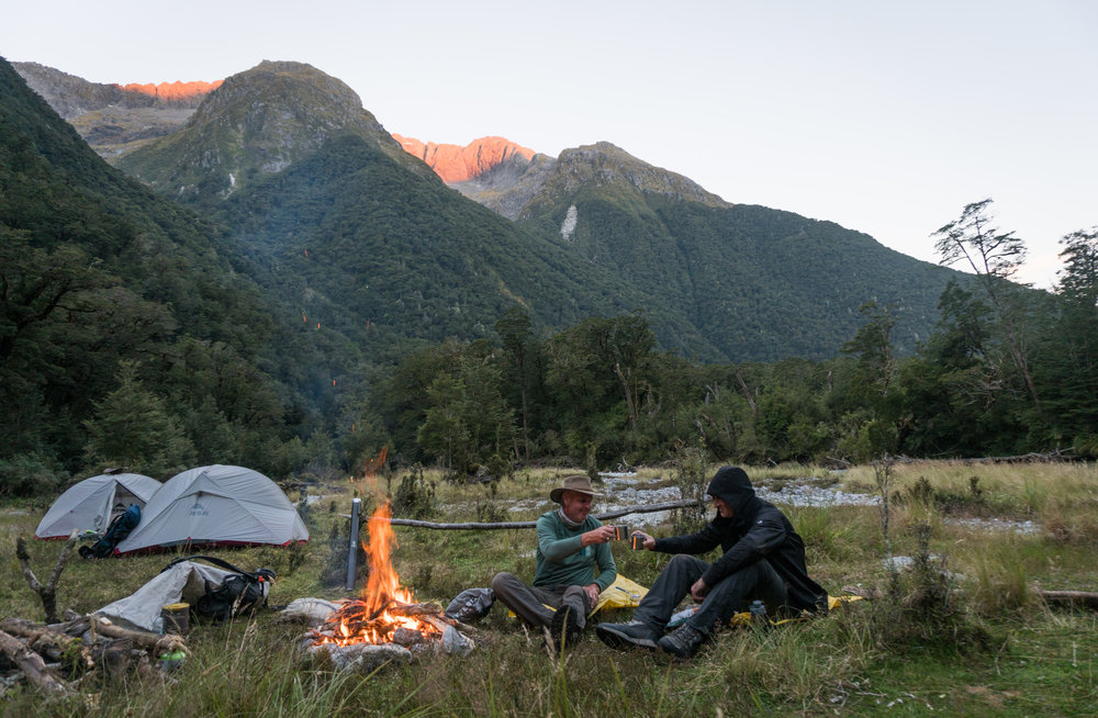 Guided backcountry fly fishing in Fiordland New Zealand