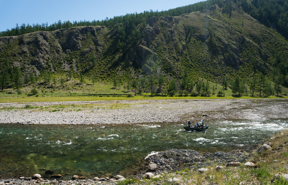 Fish Mongolia fly fishing float trip