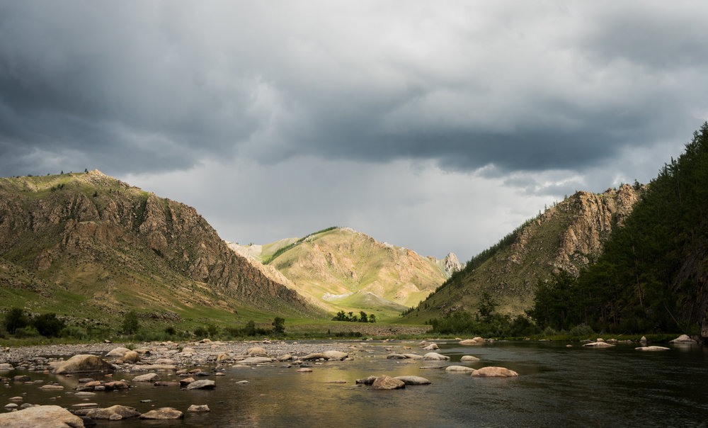 Mongolia fly fishing float trip