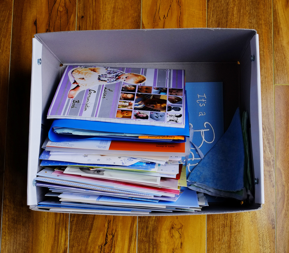 Child memory box