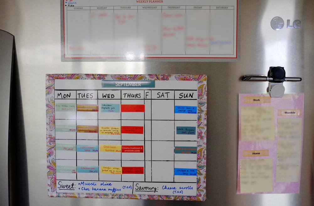 planner display