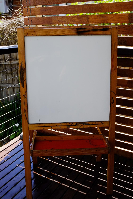 Whiteboard before