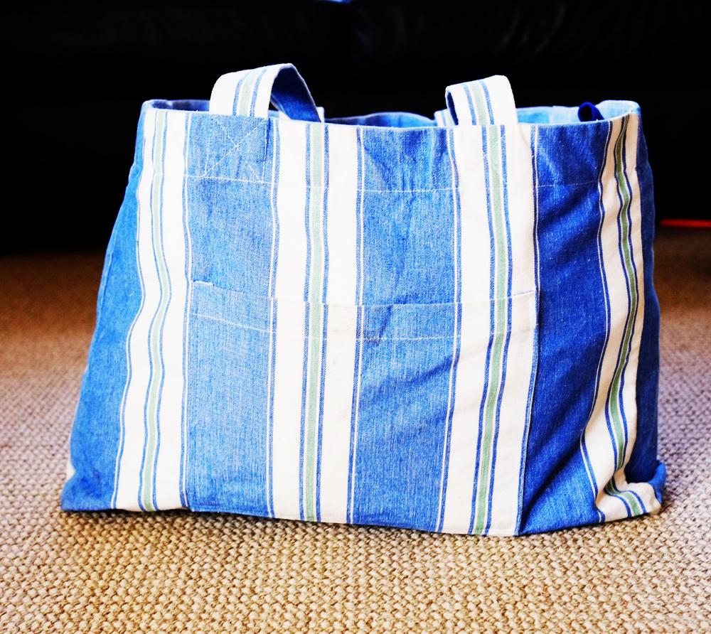 organised swimming bag