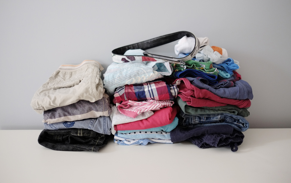 clothes pile