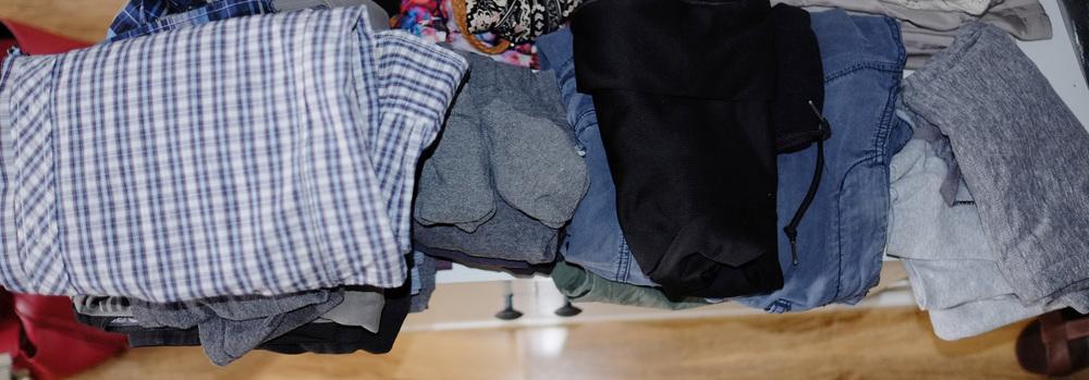 husband's clothes