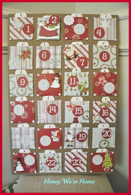 Advent Calendar Envelopes