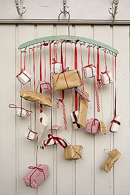 Hanging Presents Advent Calendar