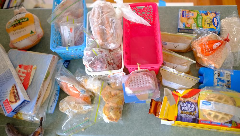 freezer produce