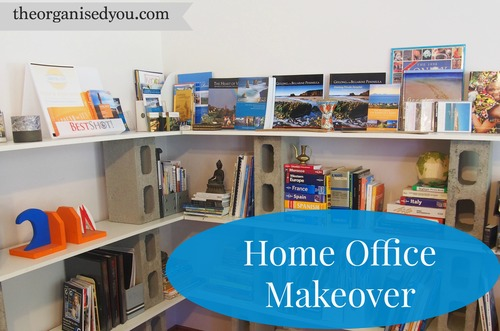 client space home office makeover organisation