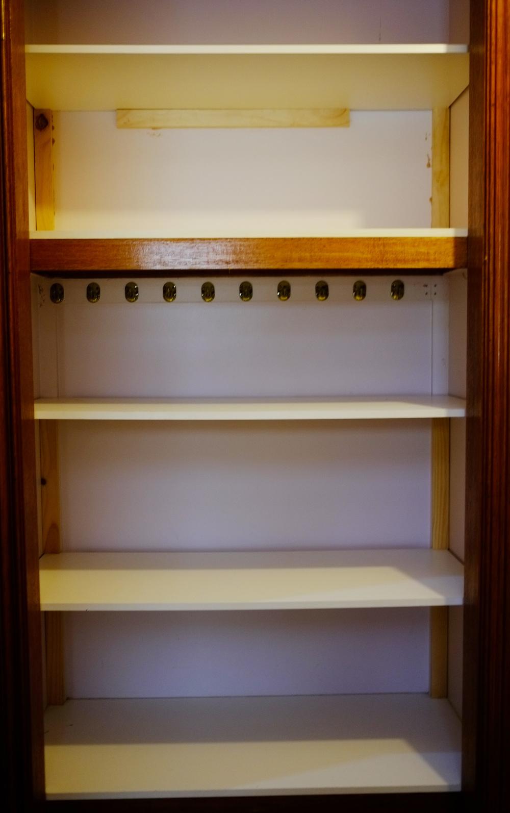 empty wardrobe