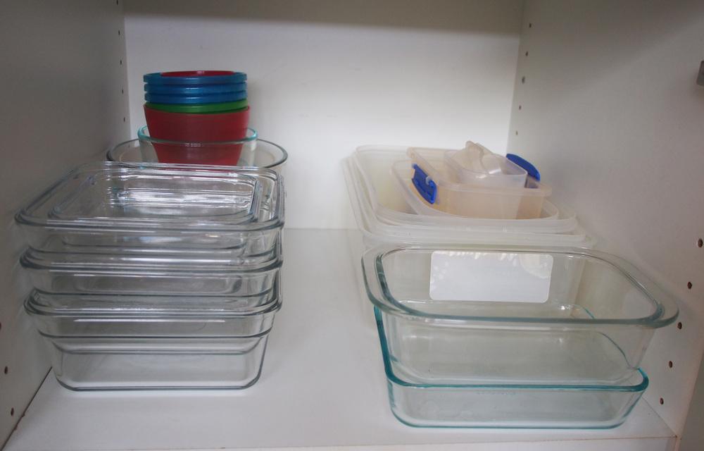 organising plastics