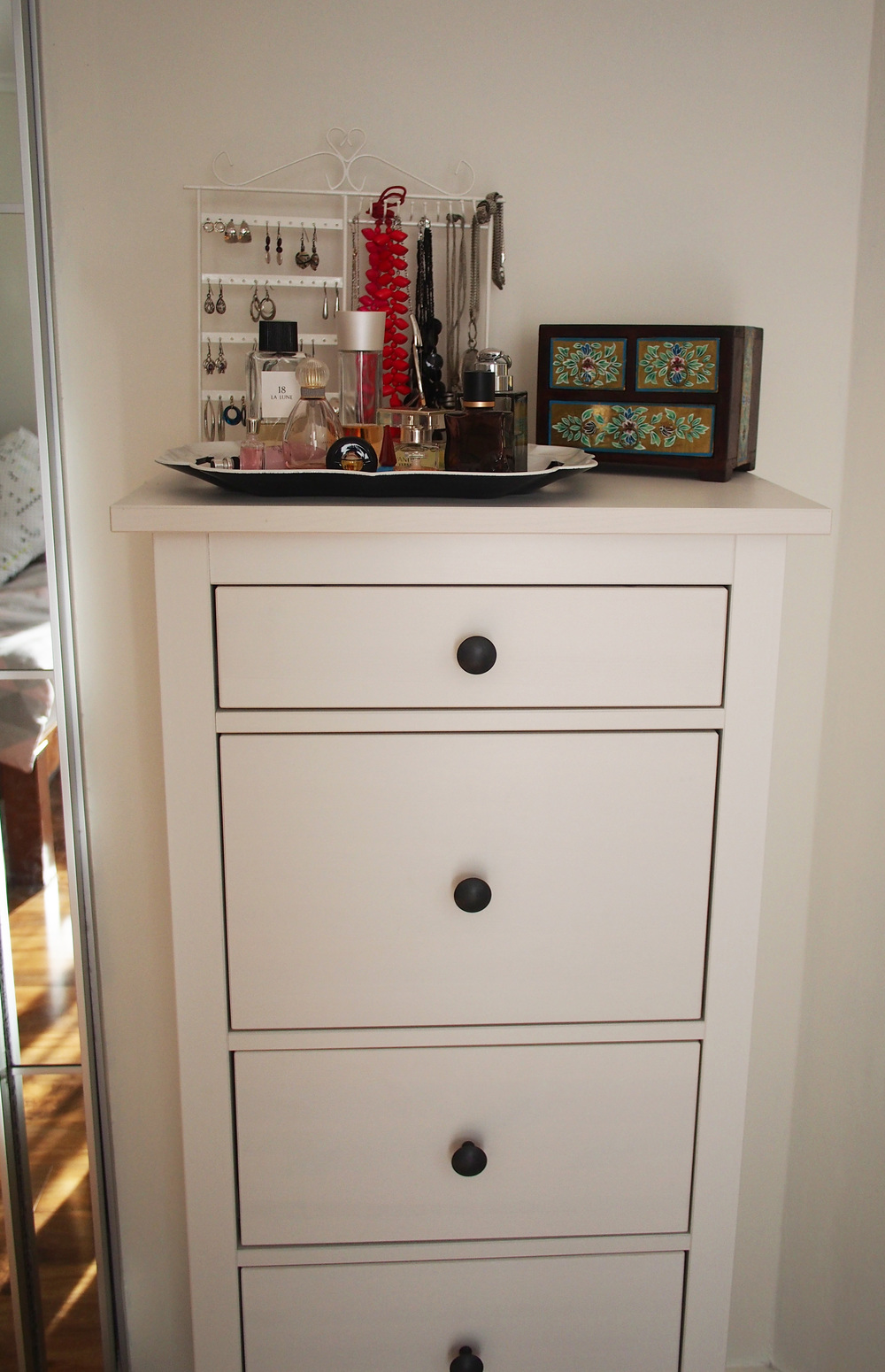 dresser for extra storage