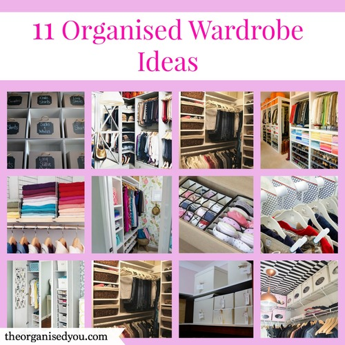 1. I wanted to show you images that are realistic and achievable - we  certainly can't all have huge walk-in closets, but you can always take  elements from ...