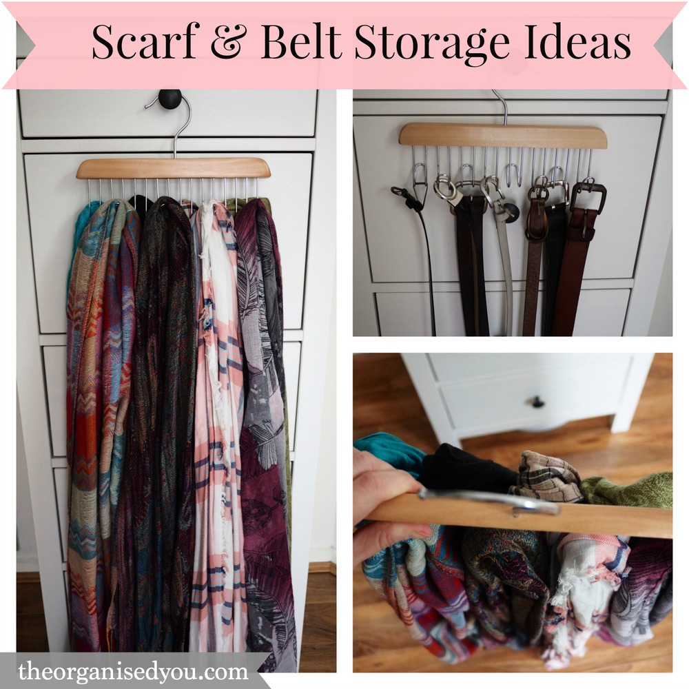 Today I Thought I Would Show You How I Personally Store My Belts And  Scarves, And Give You A Few Extra Ideas To Help Get This Trouble Spot  Sorted!