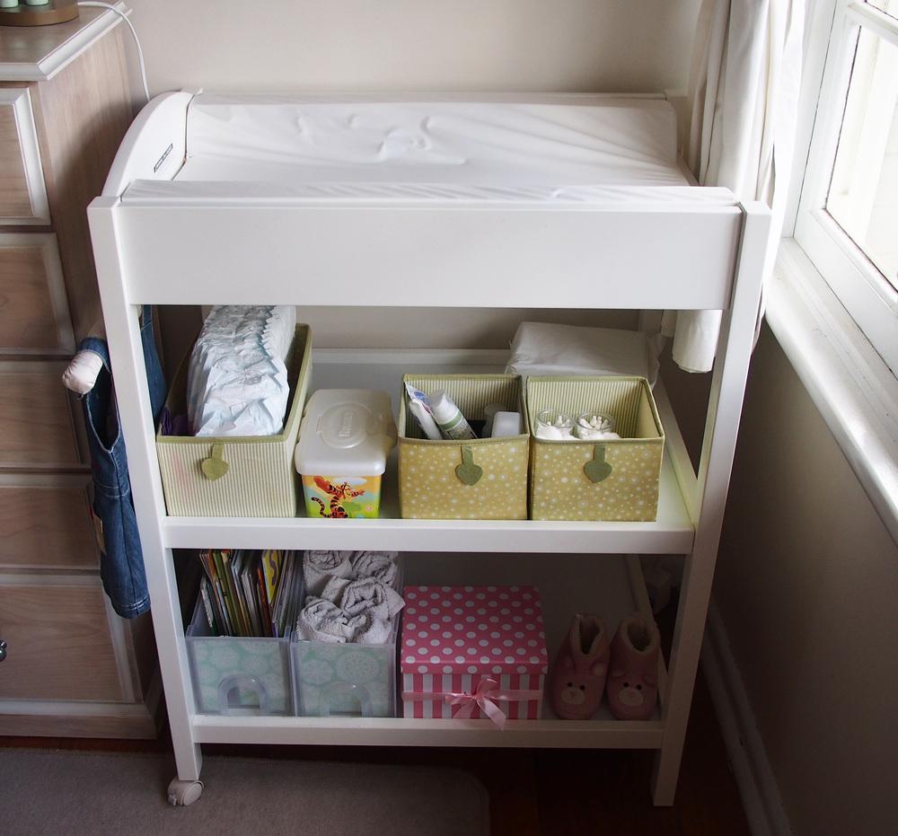 Change Table Storage S Linen Change Table Storage Ideas