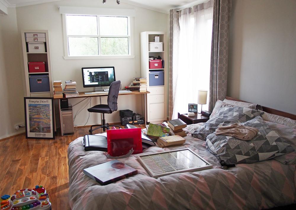 Bedroom makeover organise and declutter blog home Declutter bedroom