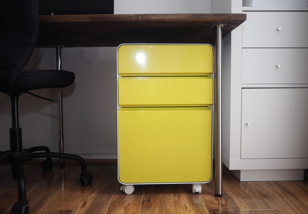 Officeworks Venturo 3-drawer filing cabinet