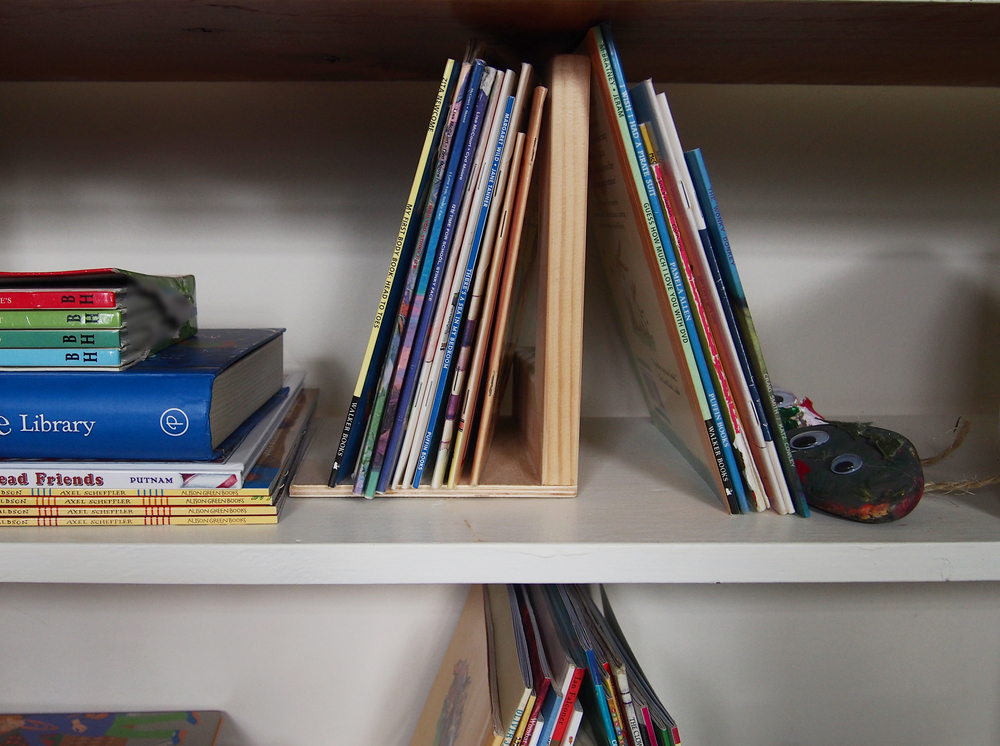organised kids' books