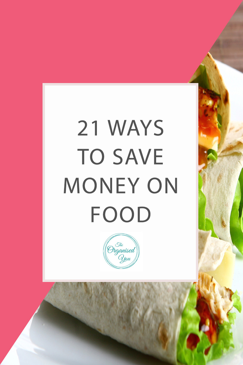 21 Ways to Save Money on Food - being smart about the way you shop, plan and prepare meals and entertain friends and family can save you a huge amount of money in the long run. Click through to read 21 ideas for saving money on food to leave you more money to spend on the fun things in life!