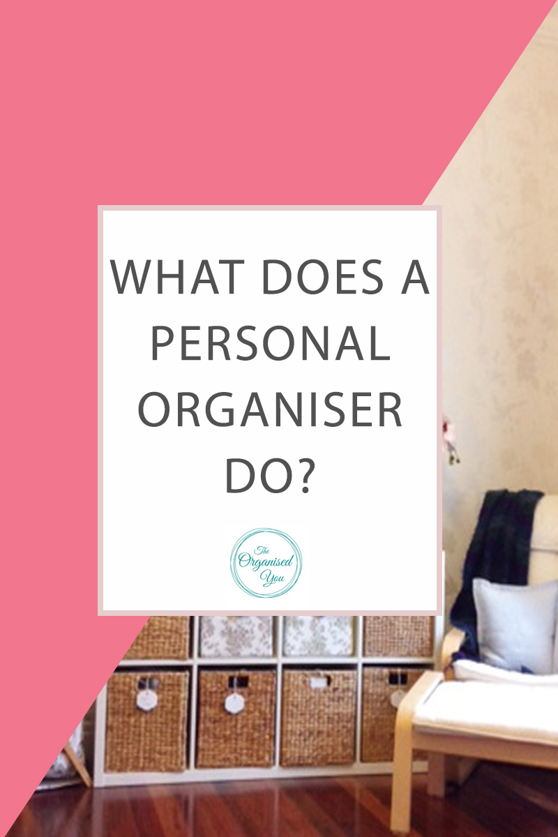 What does a Personal Organiser do? - have you ever wondered what happens when you hire a personal/professional organiser? This step-by-step post shows the full process of what happens when a room is fully decluttered and organised, with awesome results! Click through to read the full post