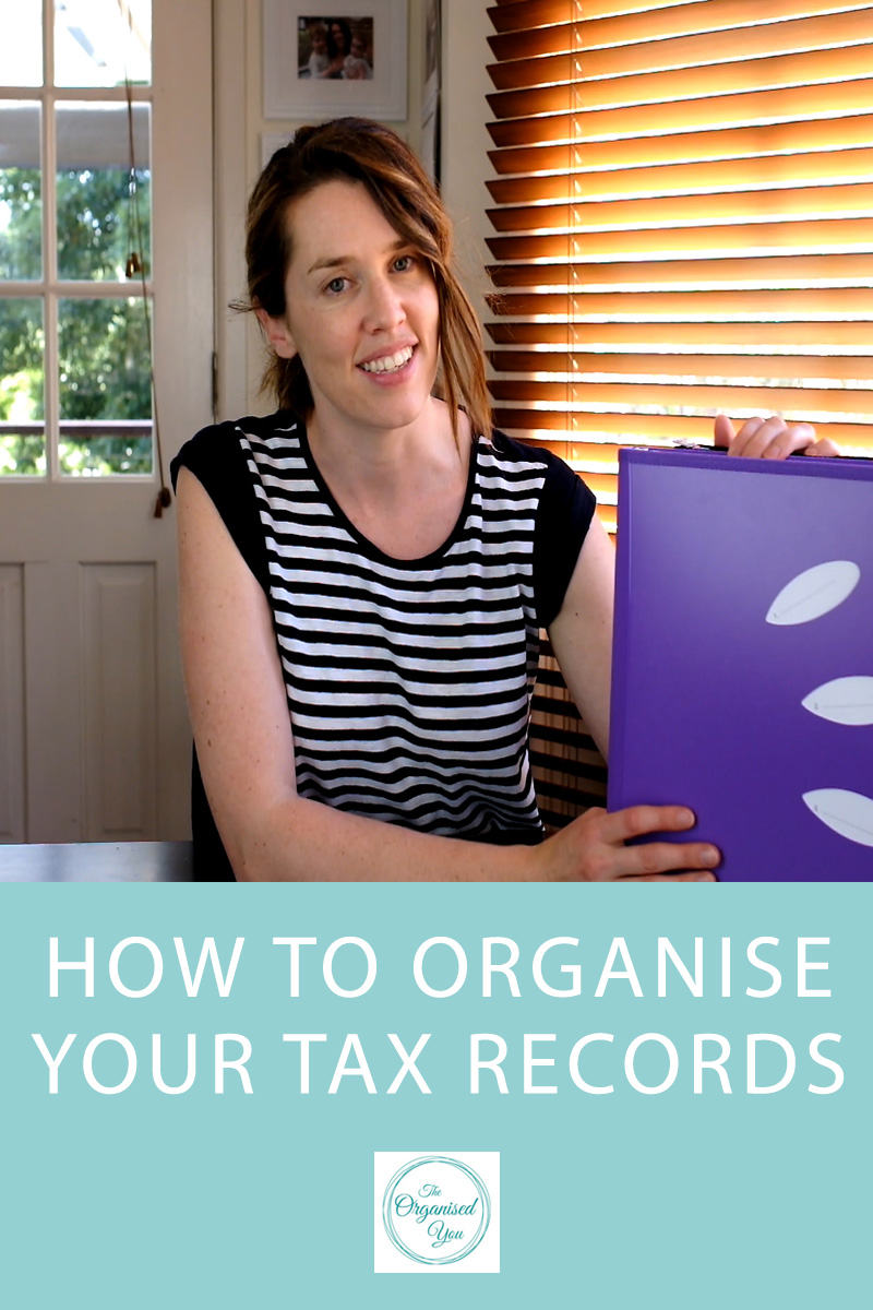 organising tax records