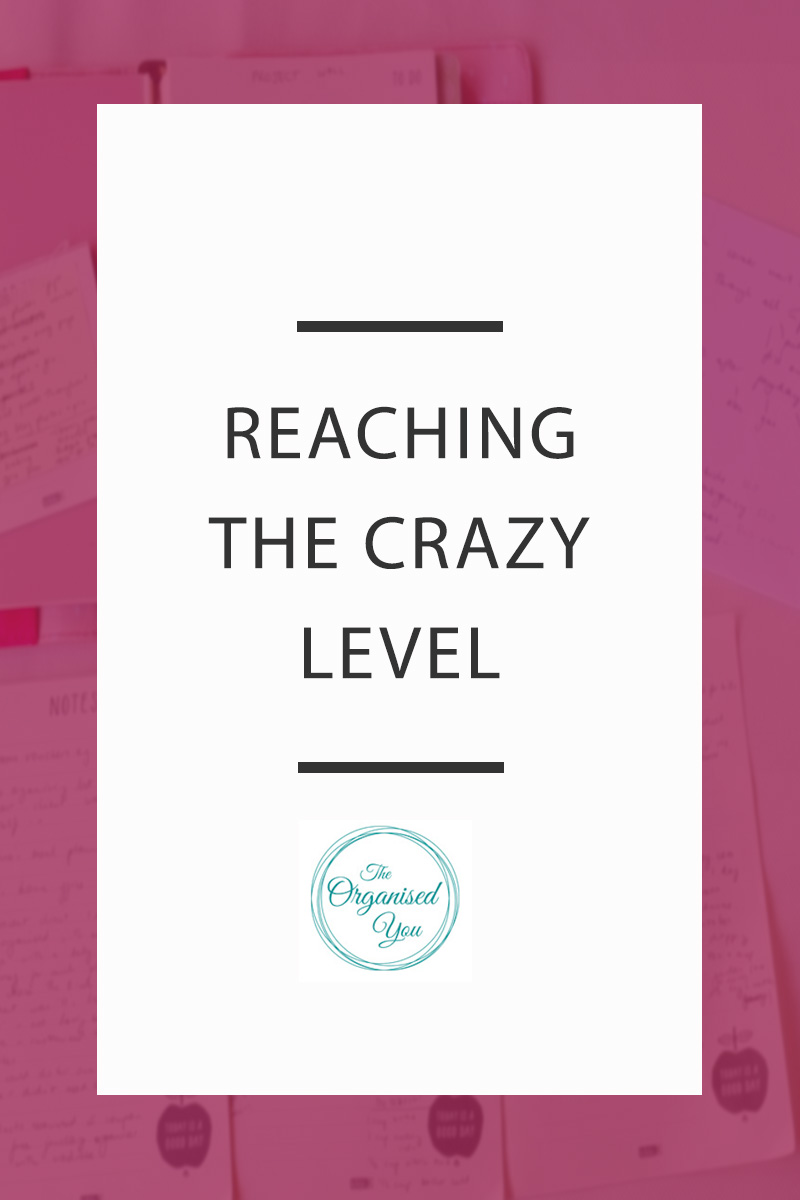 Reaching the Crazy Level - as mothers, we really do take on an enormous amount, and sometimes it can all get a bit too much. It's important to be able to let things out and have honest discussions with your family about being Mum and wearing 1000 different hats! Click through to read the full post on how things reaching the crazy level actually encouraged us to make significant changes. Can you relate?