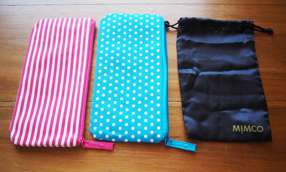 pouches for organising