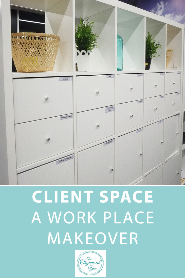 Client Space: A work place makeover-Blog | Home Organisation-The ...