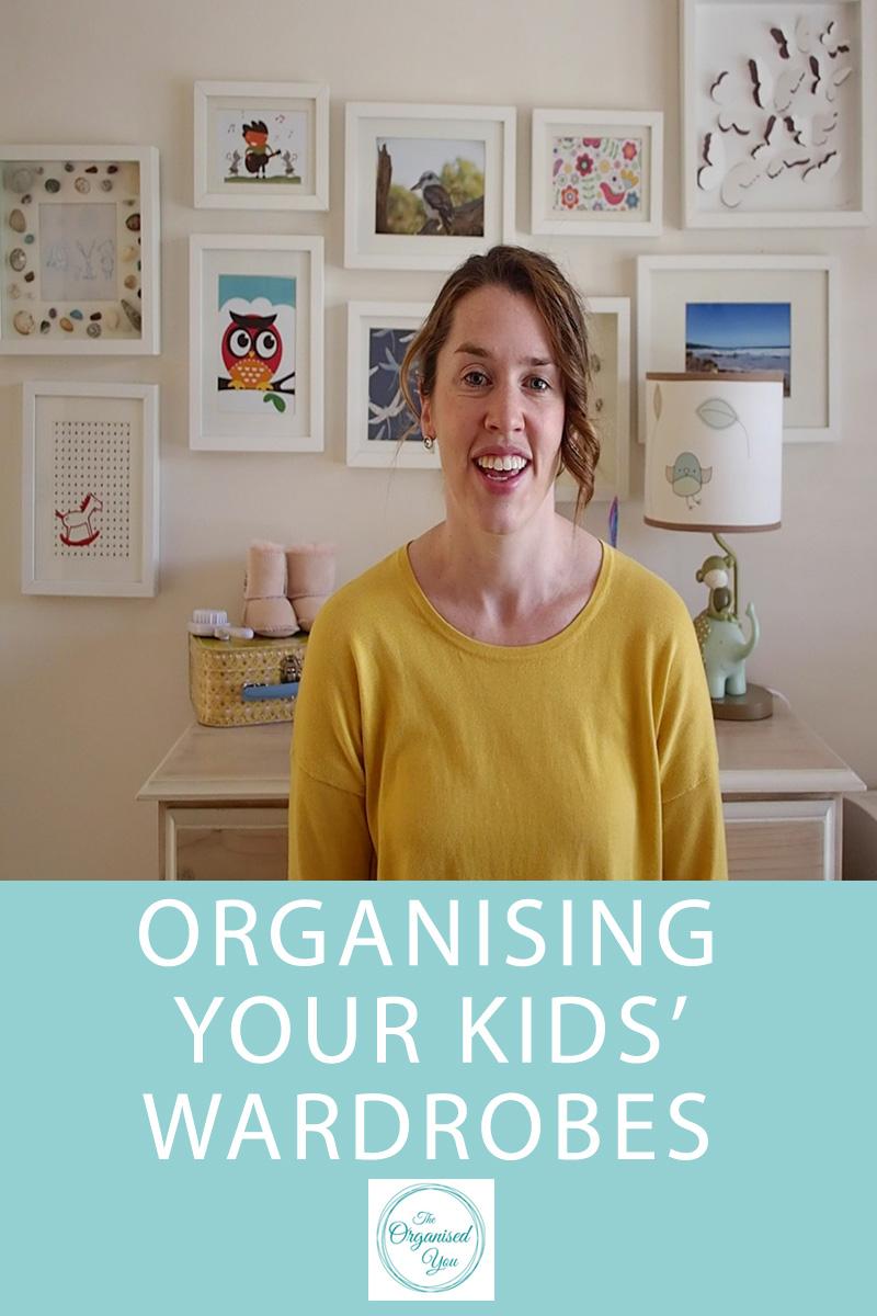 organising kids' wardrobes
