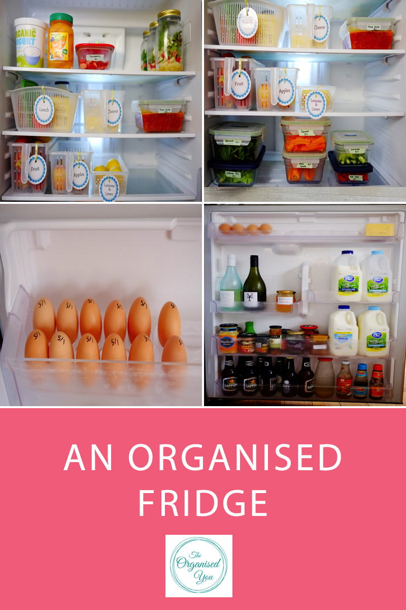 Ideas for how to organise your fridge