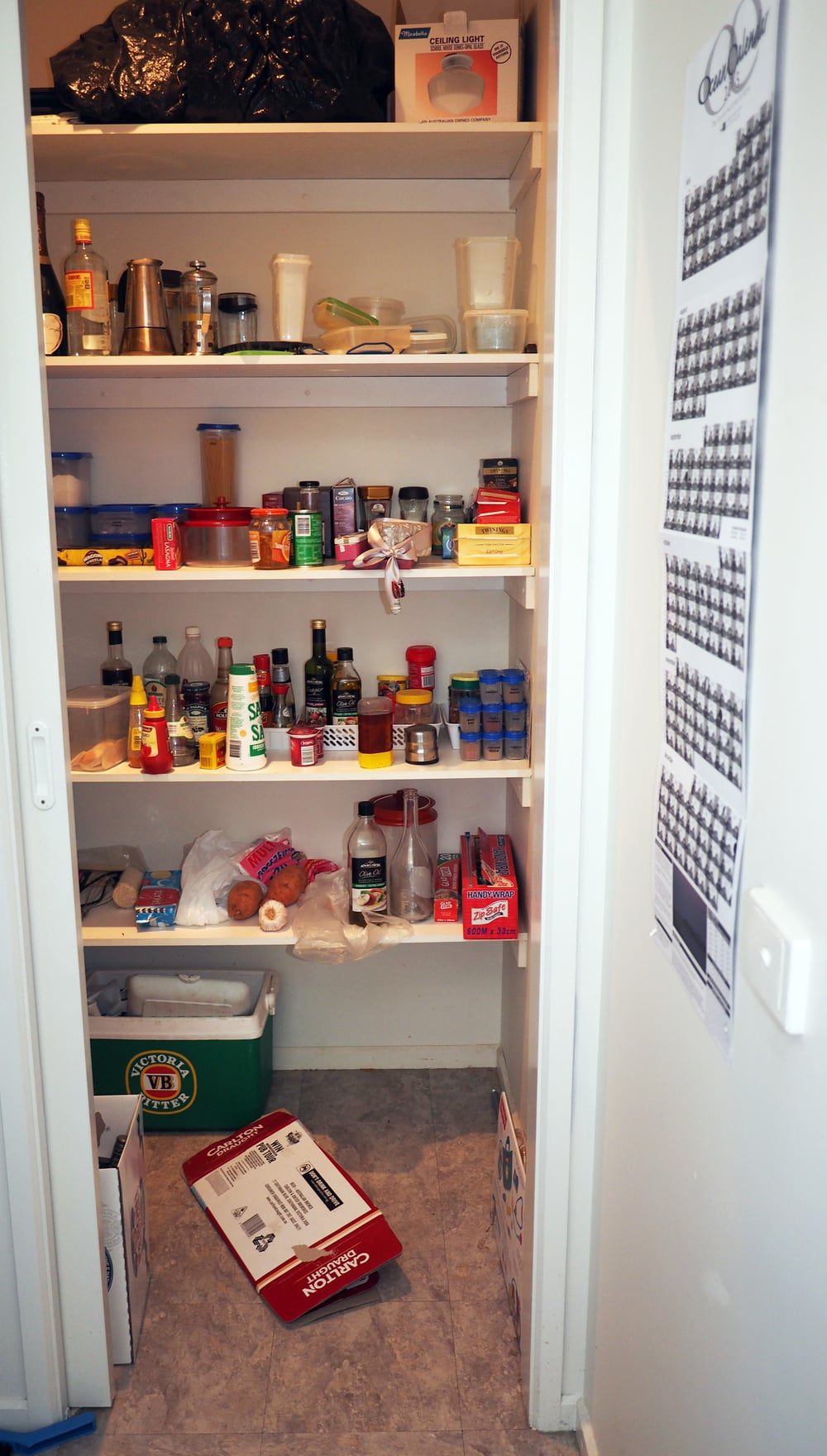 Does your pantry look like this? Messy, cluttered and disorganised? Click through to read about the full pantry makeover with tips and tricks for organising your pantry