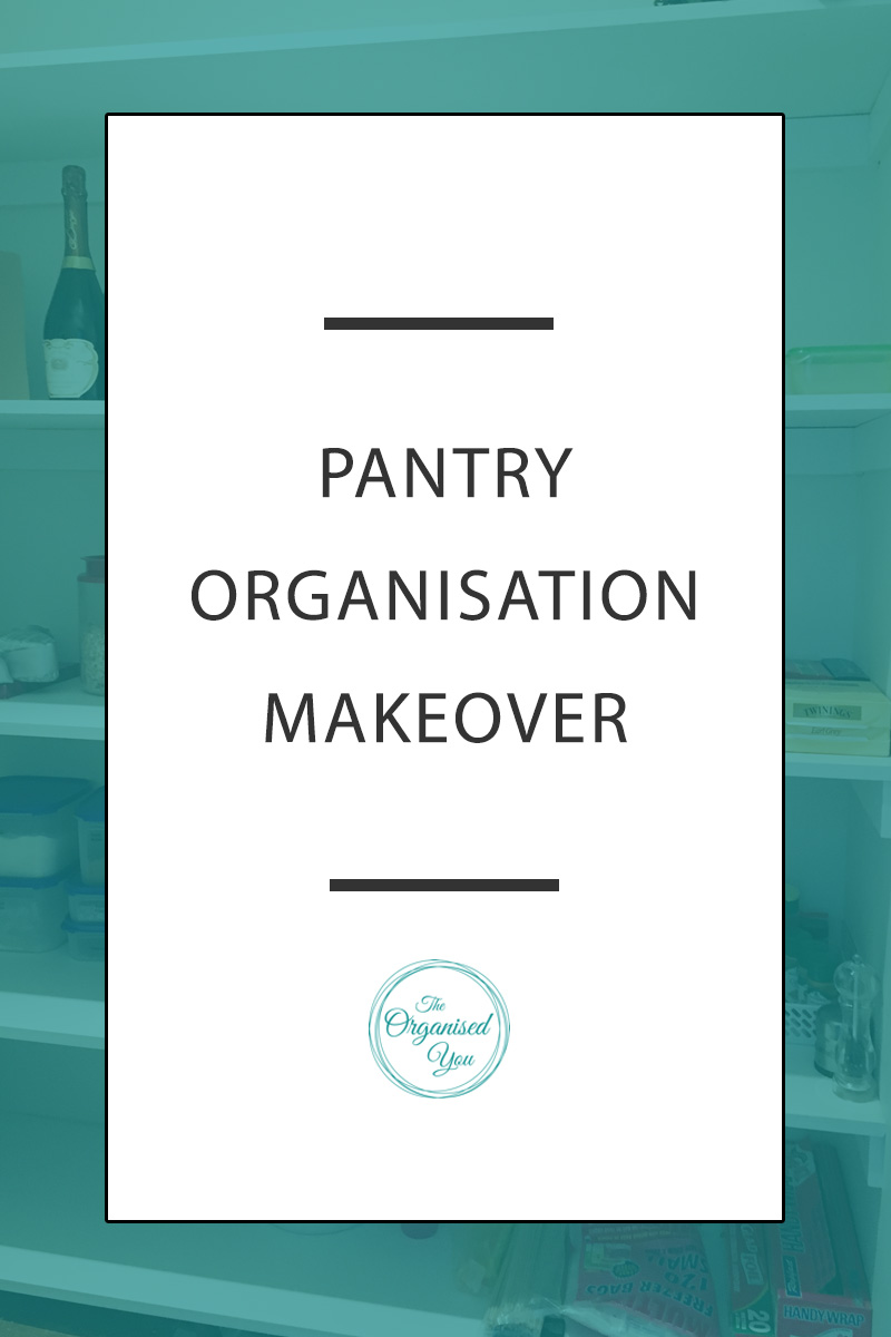 Pantry Organisation Makeover - organising a pantry in any house will make things easier to find and access, keep food fresher for longer, prevent over-purchasing at the shops, and provide a clean, clear and organised space that will be so much easier to use. A holiday house pantry can be a little different to organise, especially when many different families are accessing it. Click through to read how we organised our holiday house pantry using a few effective tricks!