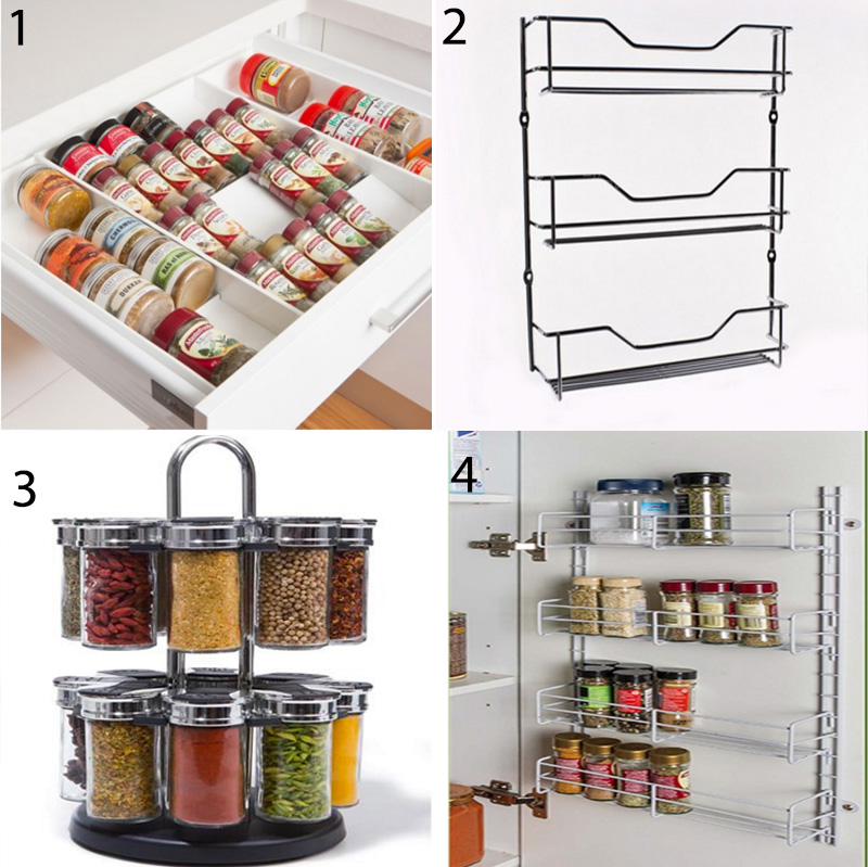 Spice storage - having a storage system for your spice collection makes cooking dinners and finding your ingredients quick and easy, and a huge time-saver to have everything on hand and easy to find